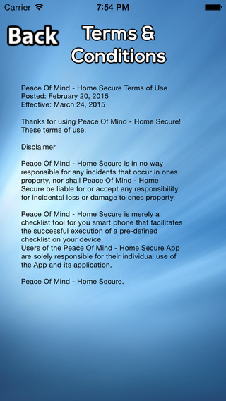 Home Secure - Peace Of Mind