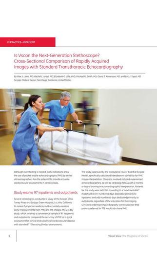 GE Healthcare Vscan View