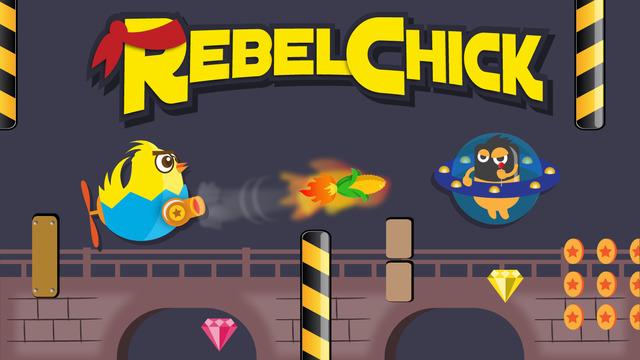 Rebel Chick - Endless Flight Shooter