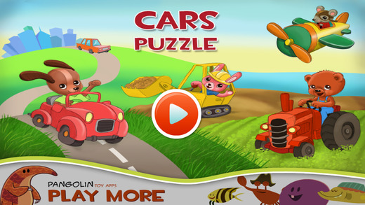 Cars Puzzle - Educational Game