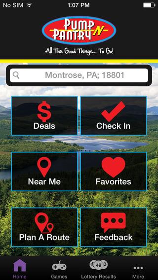 Pump N Pantry App