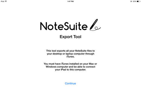 NoteSuite Export Tool
