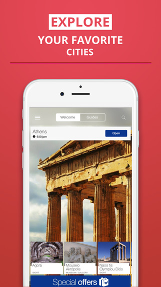 Athens - your travel guide with offline maps from tripwolf guide for sights restaurants and hotels