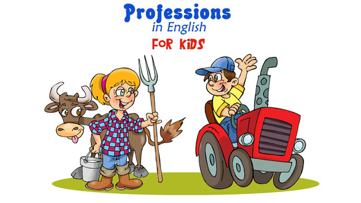 Professions in English – for Kids. Pick the right answer