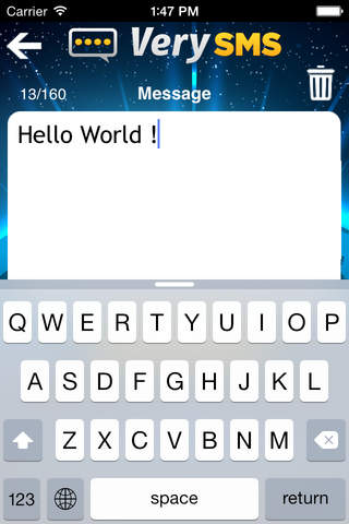 VerySMS screenshot 3