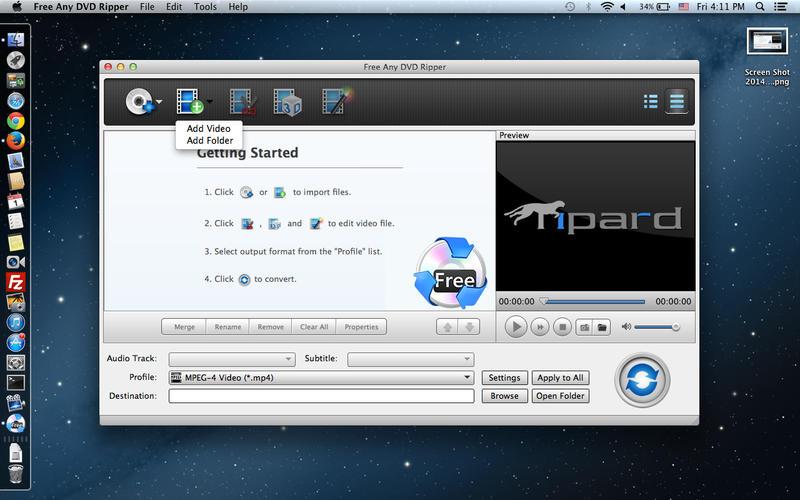 Free Any DVD Ripper Screenshot - 2