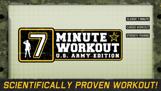 7 Minute Workout - Army Fitness Edition