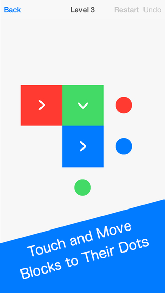 《益智休闲 推方块 : Squares - Challenging Puzzle Game [iOS]》