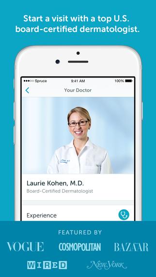 Spruce - your online dermatologist