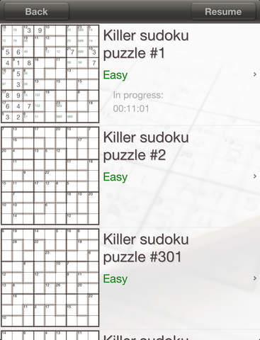 Sudoku Killer  screenshot