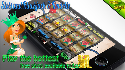 AAA Aage Crazy Tattoos Slots and Roulette Blackjack