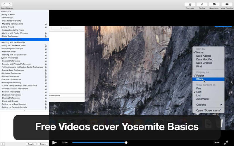 Tutor for OS X Yosemite - Free for Mac