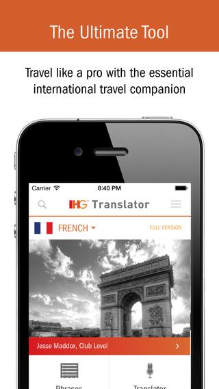 IHG® Translator