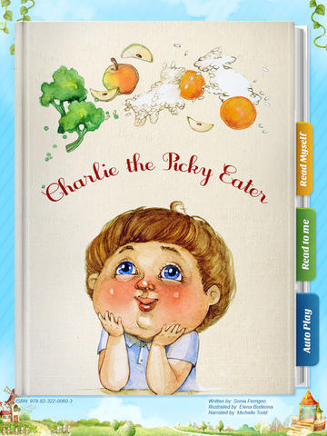 Charlie the Picky Eater - Another Great Children's Story Book by Pickatale HD