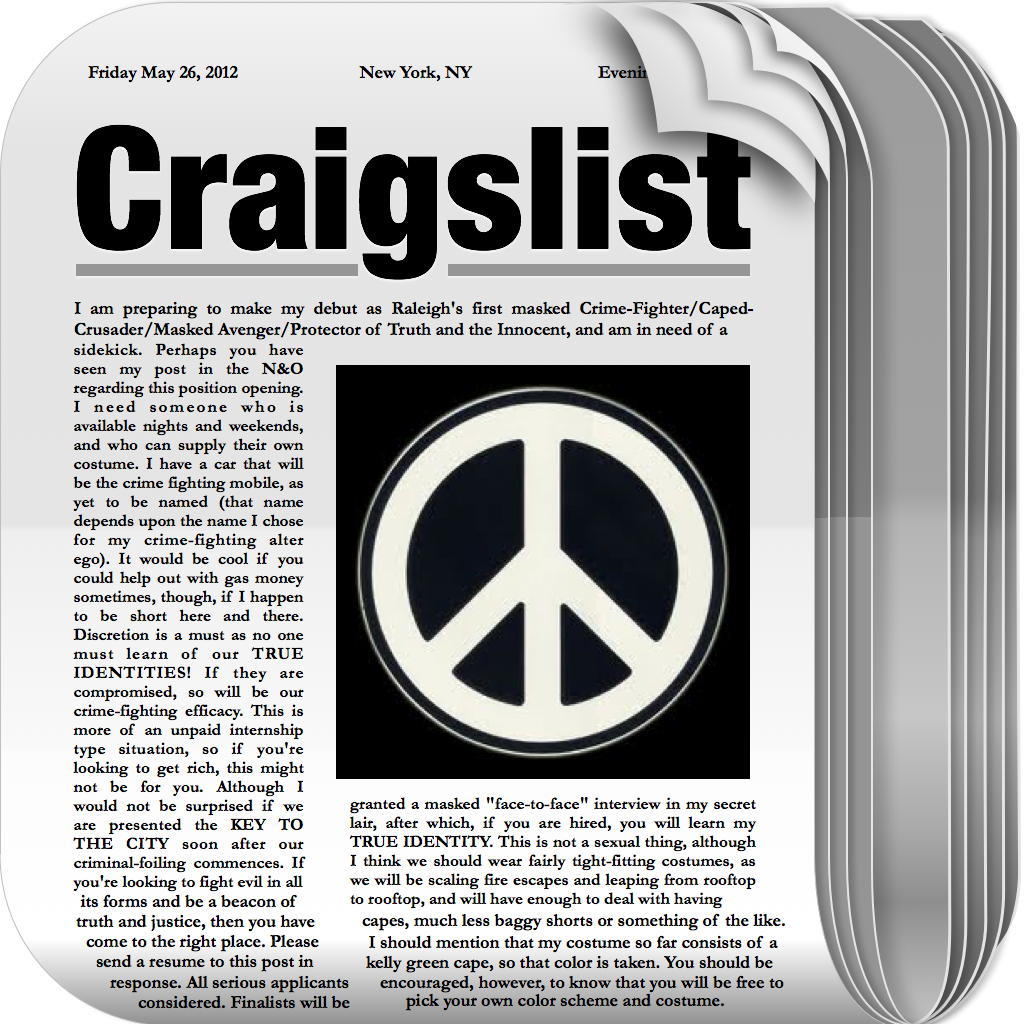 nsa relationships craigslist wfm