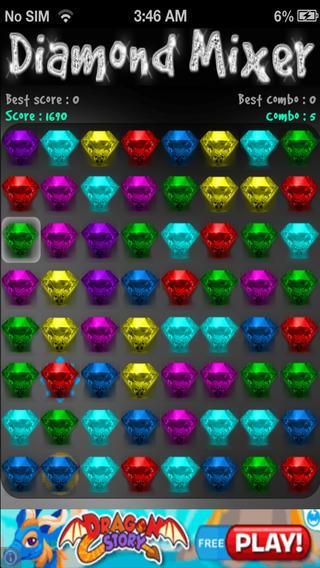 Diamond Mixer
