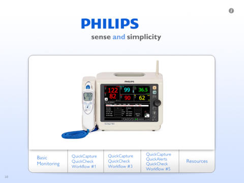 Philips SureSigns VS3 VS4 demonstration