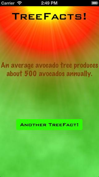 TreeFacts iPhone Screenshot 3