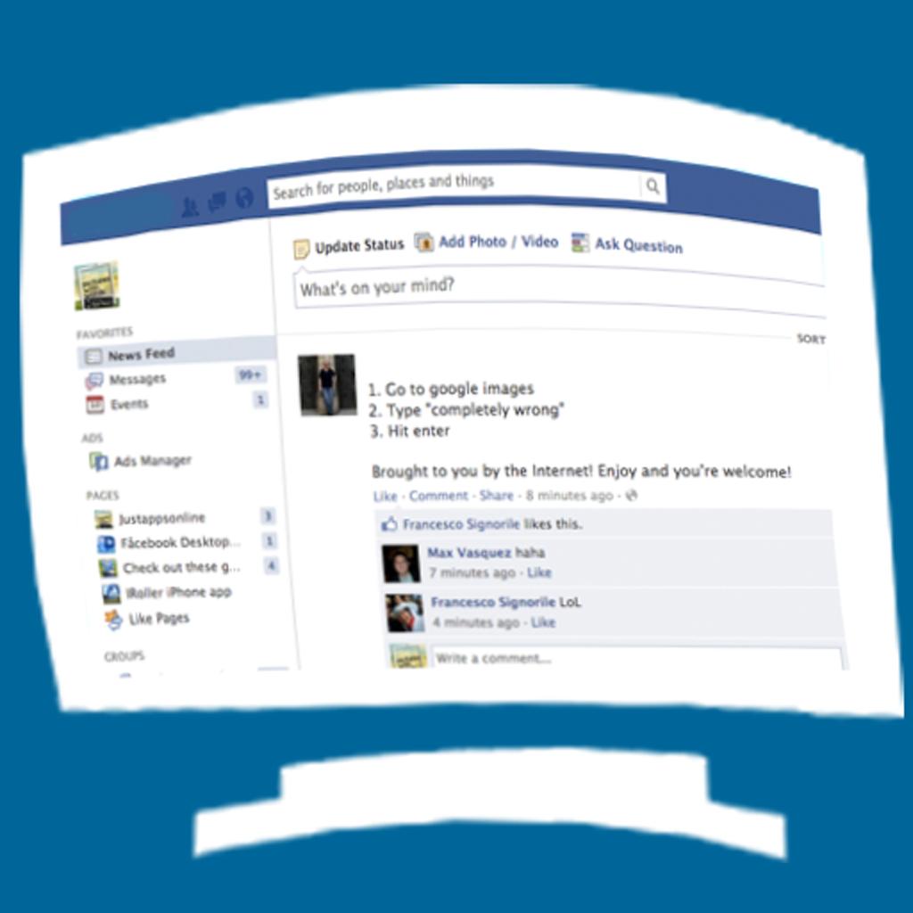 access facebook desktop version