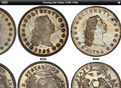 PCGS Photograde HD iPad Screenshot 2