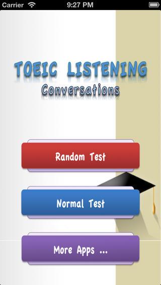 TOEIC Listening Conversations