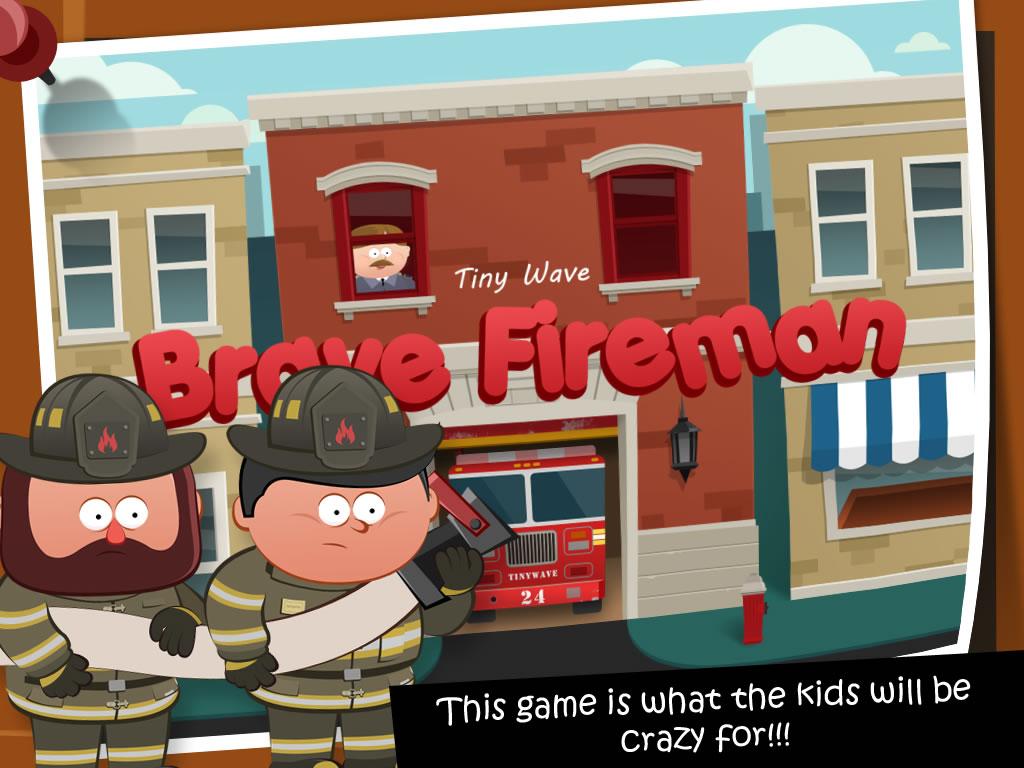 Brave Fireman - 勇敢的消防员 - 勇敢的消防員