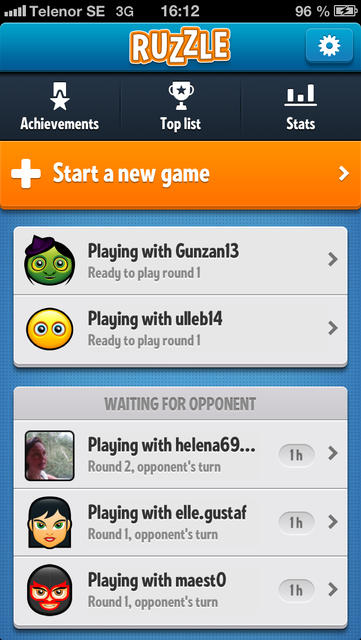 Ruzzle - iPhone Mobile Analytics and App Store Data