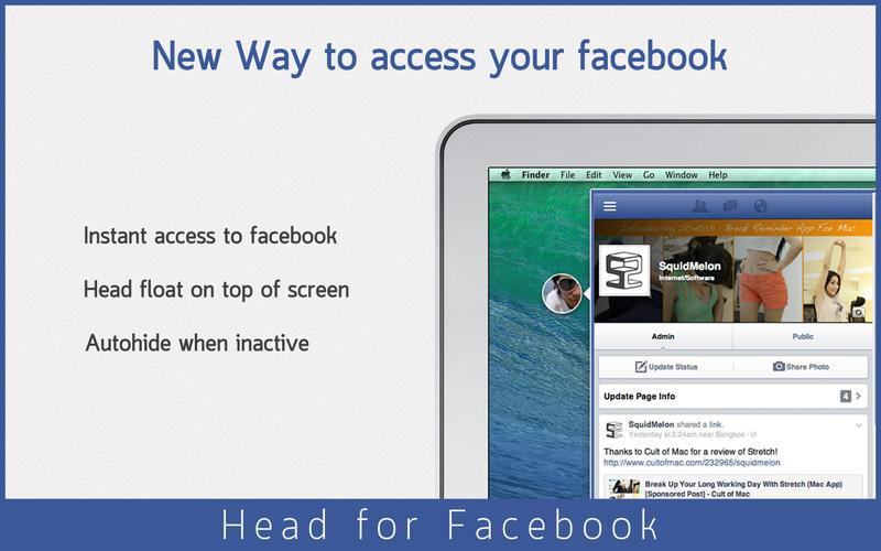 Head for Facebook Screenshot - 1
