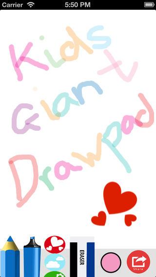 Kids Giant Draw Pad