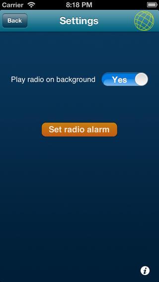 99.9 Radiomondo iPhone Screenshot 3