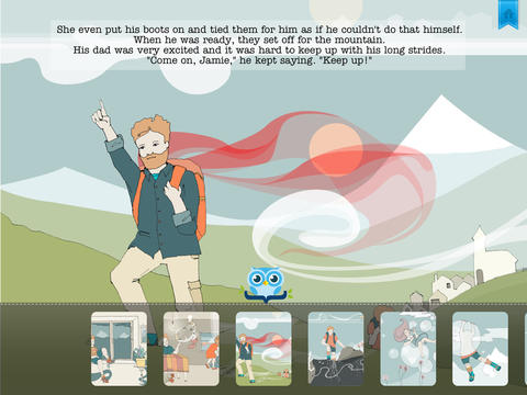 Jamie's Mountain Trek - Another Great Children's Story Book by Pickatale HD