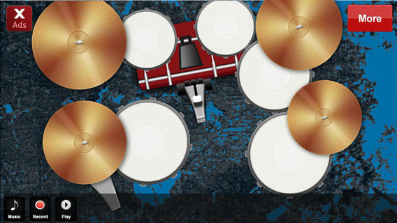 Shazam Drums Record Kit