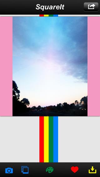 SquareIt - Full size image layout