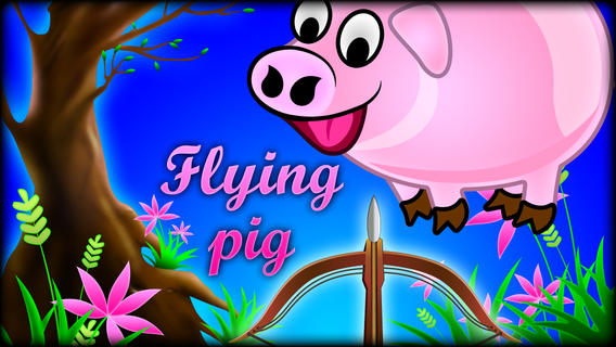 Kill the Flying Pigs Pro - Funny shooting and hunting arcades game