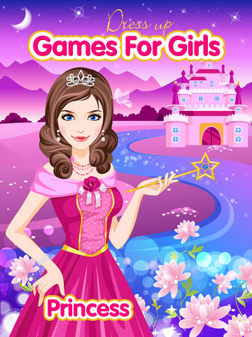 free princess dress up games for girls