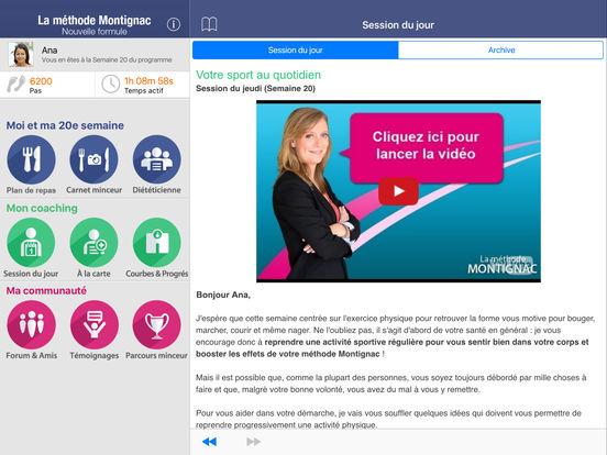 La Méthode Montignac avec Michel Montignac (gratuite) iPad Screenshot 1