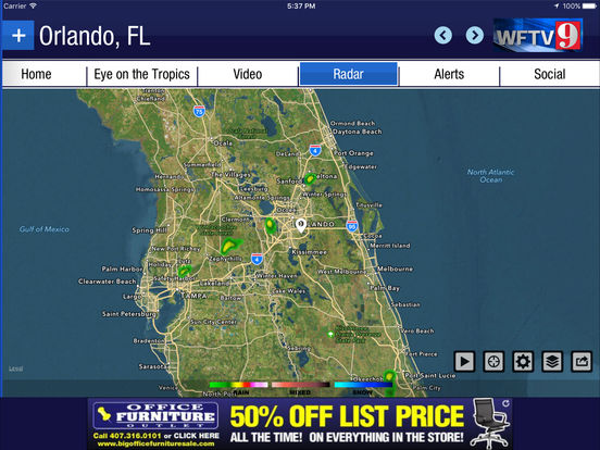 wftv channel 9 weather apppicker