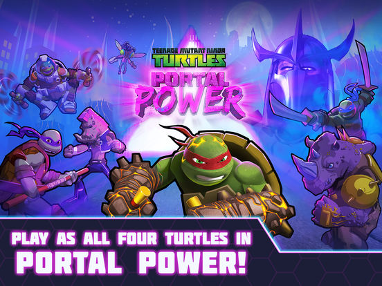 Teenage Mutant Ninja Turtles: Portal Power Screenshots
