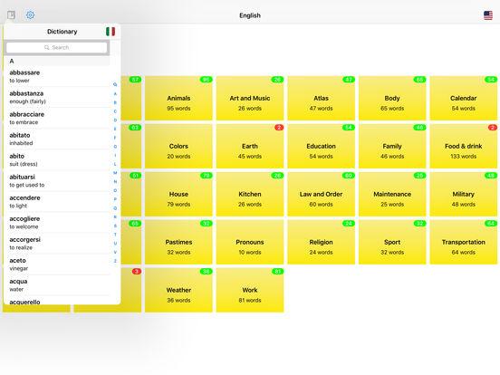 You Have Words Italian iPad Screenshot 4