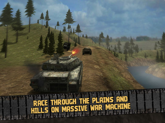 Offroad Tank Driving Simulator 3D Full Screenshots
