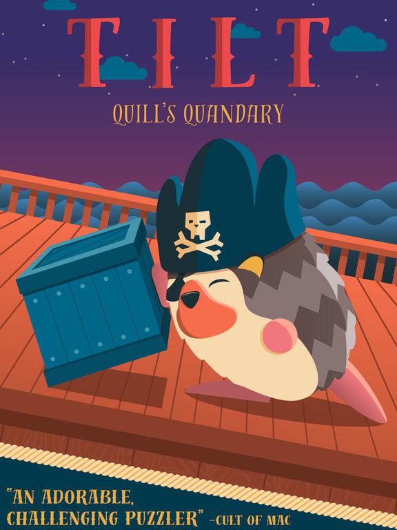 Tilt: Quill's Quandary Screenshot