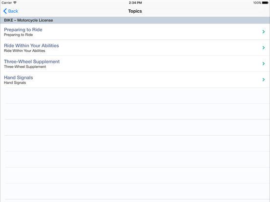 Motorcycle Test Prep iPad Screenshot 5