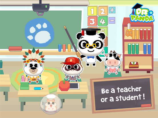 Dr. Panda School Screenshots