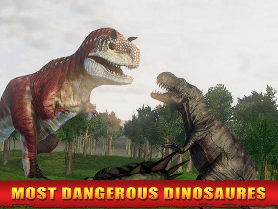 Screenshots of 2016 Dinosaur Hunting Park 3D : Reload Dino World Safari Hunt Season Games for iPad