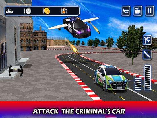 Flying Future Police Cars Pro screenshot 9