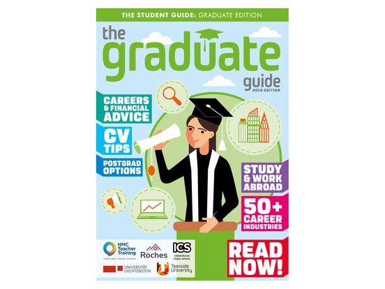 The Graduate Guide Screenshots