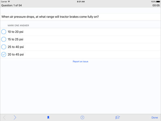 CDL Test Prep Pro (Commercial Driver's License) iPad Screenshot 3