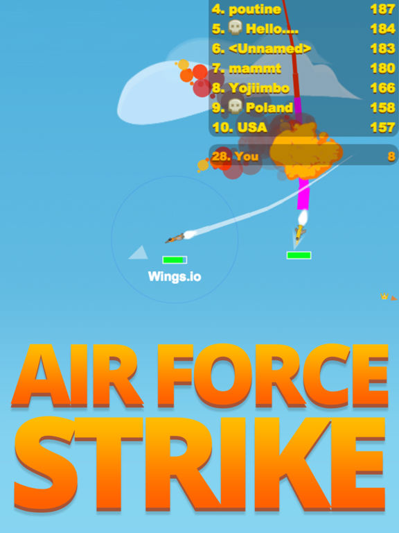 App Shopper: Wings.io - Airforce Strike - The Online ...