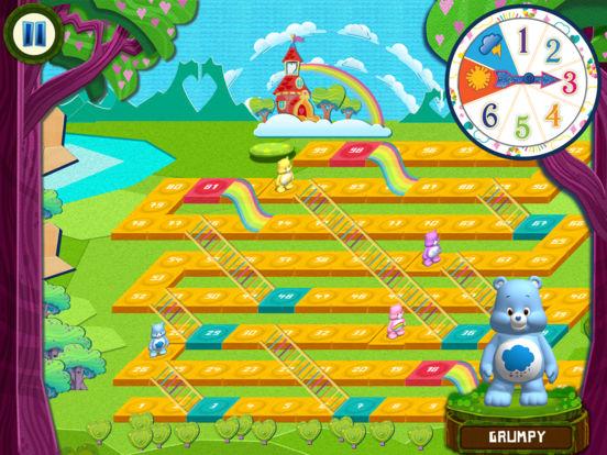 Rainbow Slides: Care Bears!screeshot 2