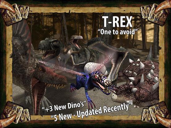Screenshot #1 for Dinosaur Safari Pro for iPad